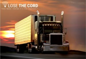 Lose The Cord helps truck drivers gain a reliable and secure internet connection that is unthrottled, unlimited, and completely mobile!